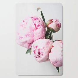 Vase of Peonies Cutting Board