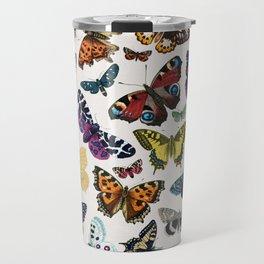 butterfly pattern Travel Mug