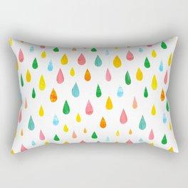 Happy Rain Rectangular Pillow