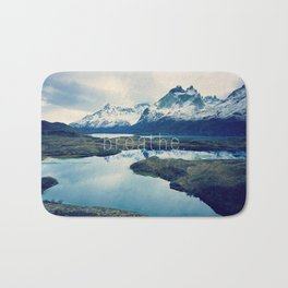 breathe. Bath Mat