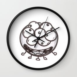 So Excited Wall Clock