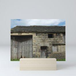 Ancient stone barn - west yorkshire Mini Art Print