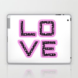 [Glittered Outline Effect Variant] Love's Simply Stylish Laptop & iPad Skin