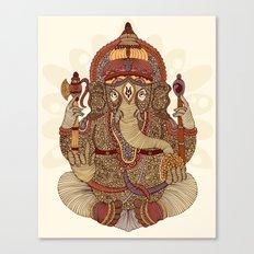 Ganesha: Lord of Success Canvas Print