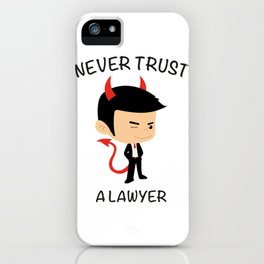 Cover Lawyers iPhone Case