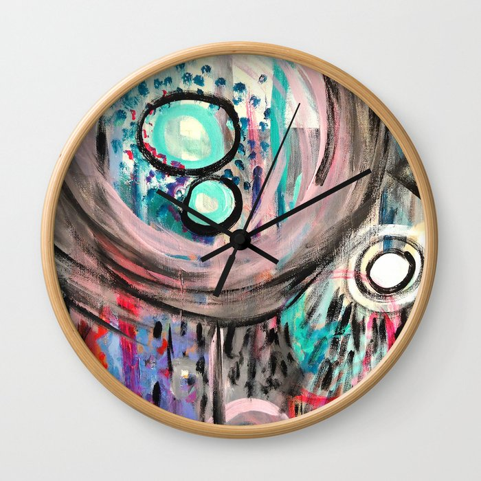 Jungle Rain Wall Clock