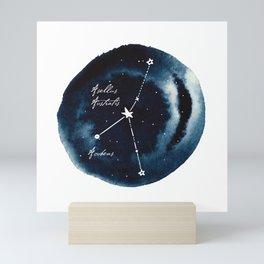Cancer Zodiac Constellation Mini Art Print