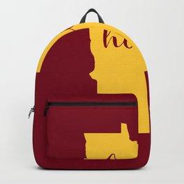 Minnesota is Home - Go Golden Gophers! Backpack