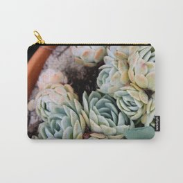 California Potted Succulents Carry-All Pouch