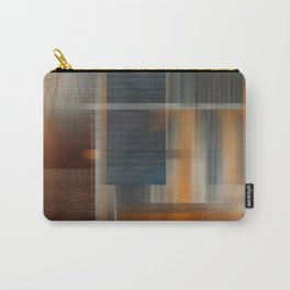 Uninhabited Mosaic (Zig Zag) Carry-All Pouch