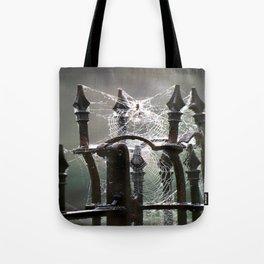 """Tangled Webs"" jjhelene design Tote Bag"