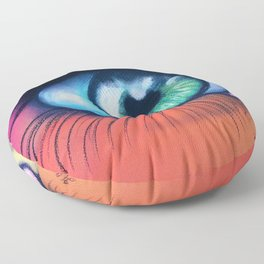 Kaleidoscopic Vision Floor Pillow