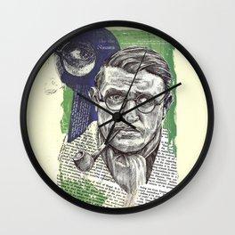 Sartre  - Nothingness Wall Clock