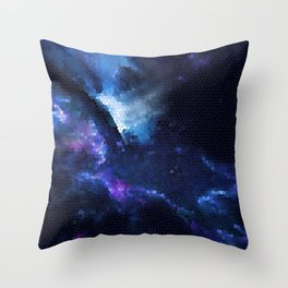 God of the Stars Throw Pillow
