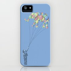 Elephants Can Fly Slim Case iPhone (5, 5s)