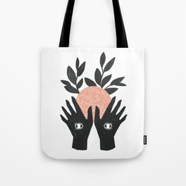of her, of earth Tote Bag