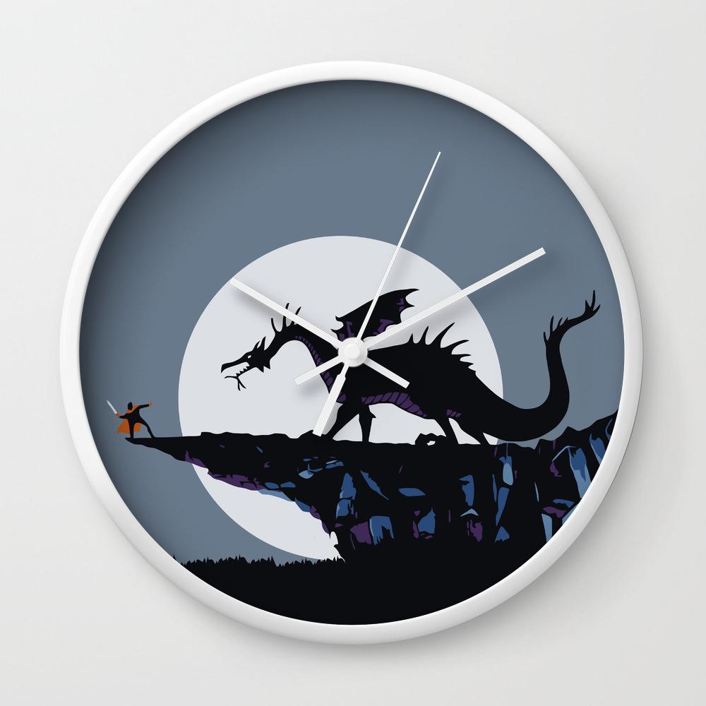 Maleficent The Dragon Wall Clock