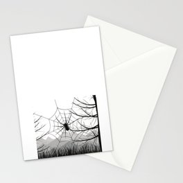 No We Don't Use That Room There Was Ounce A Spider Stationery Cards