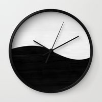 balance Wall Clocks featuring Balance by Georgiana Paraschiv