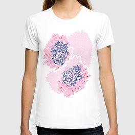 Pink Floral spark T-shirt