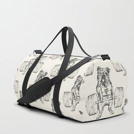 English Bulldog Lift Duffle Bag