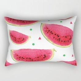 Juicy Watermelons Rectangular Pillow