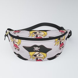 Girly Pirate Fanny Pack