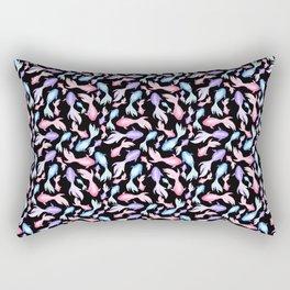 Dark Bi Goldfish  Rectangular Pillow