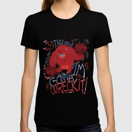 Wreck-it Ralph (Scraped appearance) T-shirt