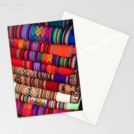 Peruvian Textiles Stationery Cards