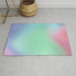 Simply Metallic in Holographic Rainbow Rug