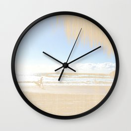 Beachwood Wall Clock