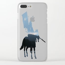 Morning Over The Invisible Lake Clear iPhone Case
