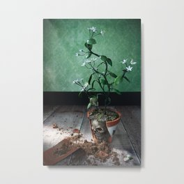The Rose Elf, photography inspired by fairytale Metal Print