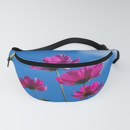 Pink Cosmos, Blue Sky 3 Fanny Pack