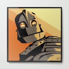 Not Atomo Metal Print