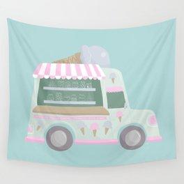 Ice Cream Truck Wall Tapestry