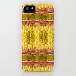 Yellow Trees in Summer iPhone Case