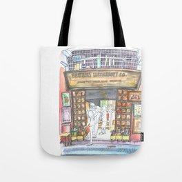 HK Shop Series - Leather Shop Bros Tote Bag