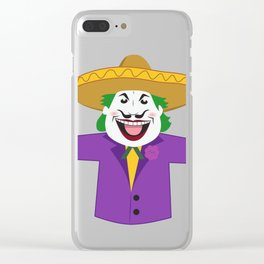 Mexican Joker Clear iPhone Case
