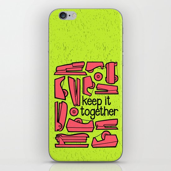 keep it together ii iPhone & iPod Skin