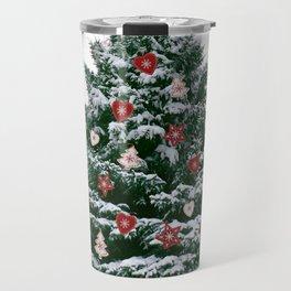 Christmas Tree by Chrissy Travel Mug
