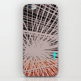 Step in Line iPhone Skin