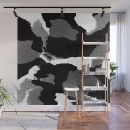 Black Is Back Wall Mural