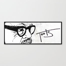 Toots  Canvas Print
