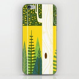 Joyful Trees iPhone Skin