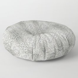 SnowVines Floor Pillow