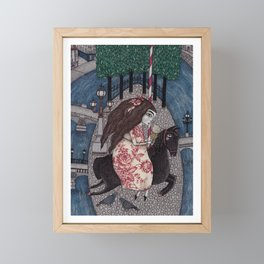 My Summer Days Framed Mini Art Print