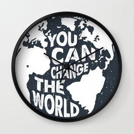 You can change the World! Wall Clock
