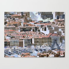 Le Vieux-Port (Marseille) Canvas Print
